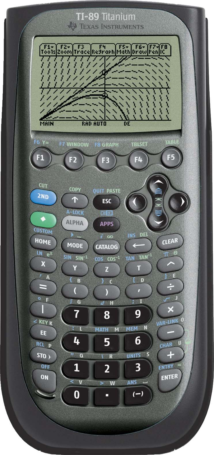 Texas Instruments TI 89 Titanium Graphing Calculator with Linear Programing